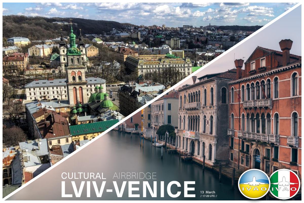 [UA+IT] Lviv - Venice Cultural Airbridge
